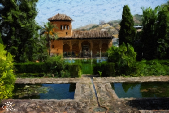 Granada - Nazrid Palaces - Signed